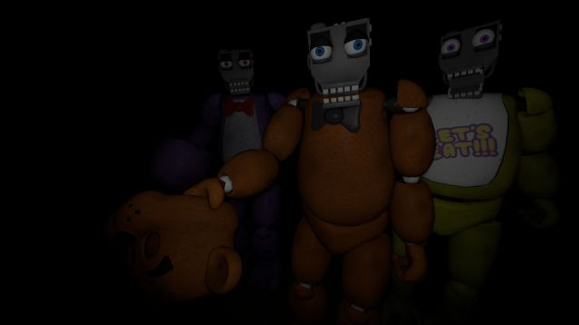 Steam workshop five nights at freddys endoskeleton publicscrutiny Choice Image