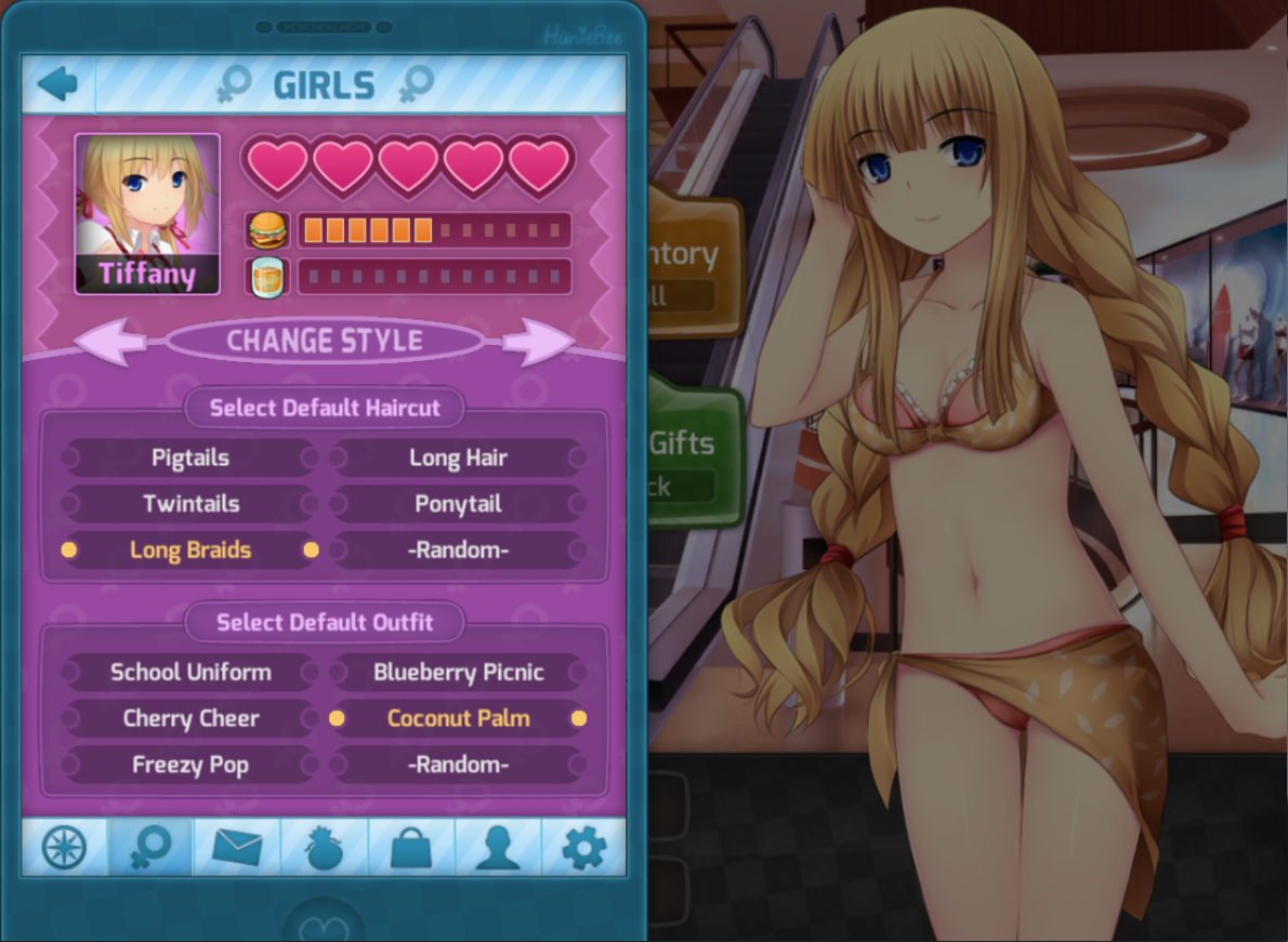 Huniepop date gifts guide
