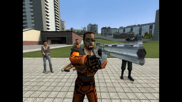 Steam Workshop Gordon Freeman Player Models