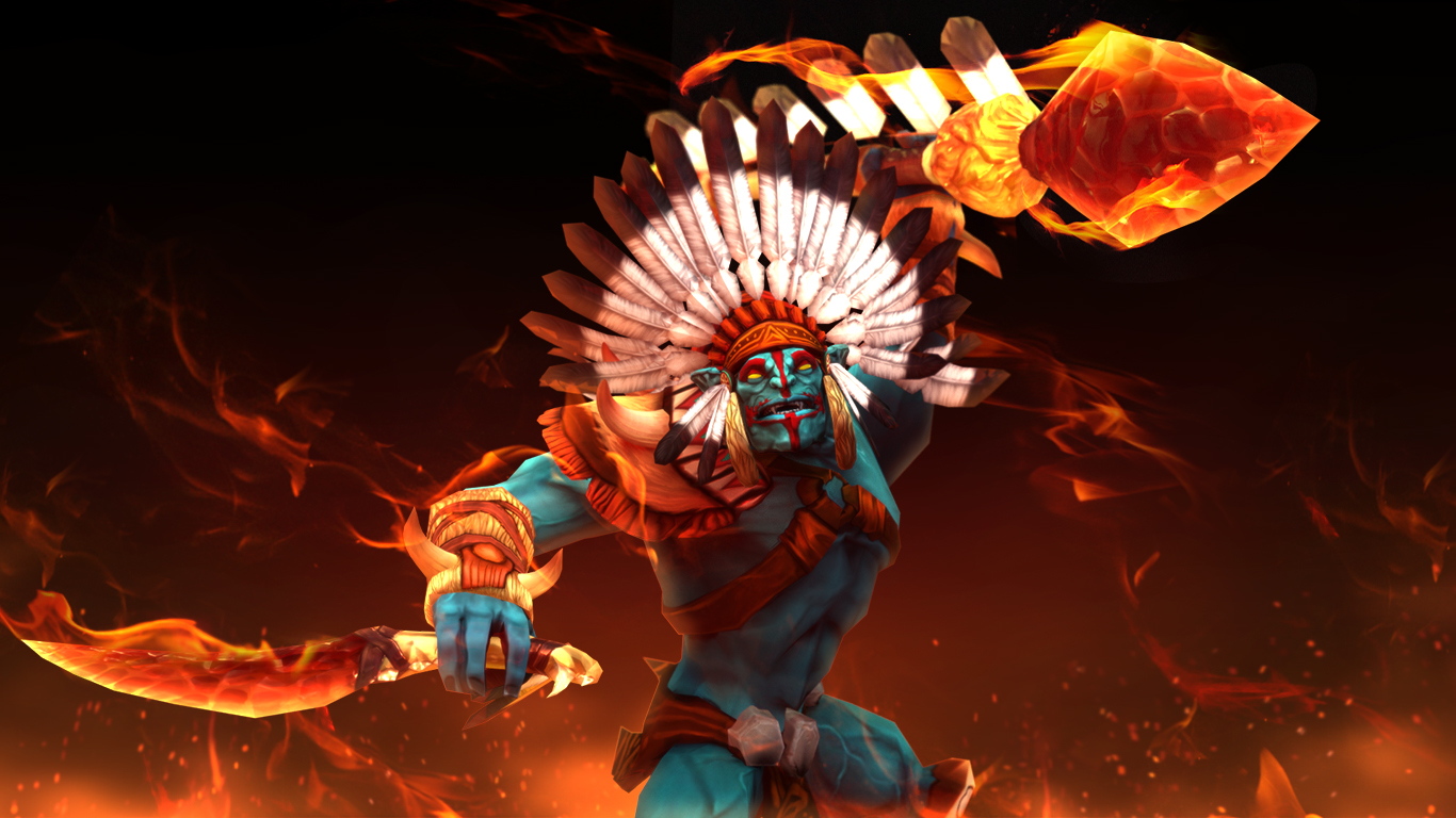 steam workshop the indian chief warrior huskar set