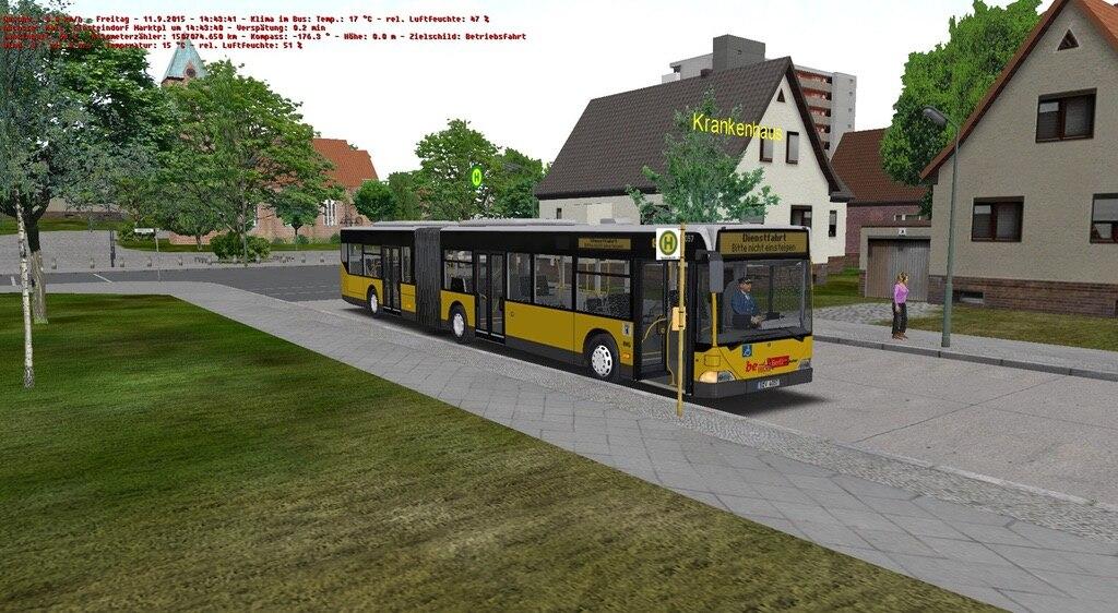 Сообщество Steam :: :: Mercedes-Benz Citaro O530g im BVG