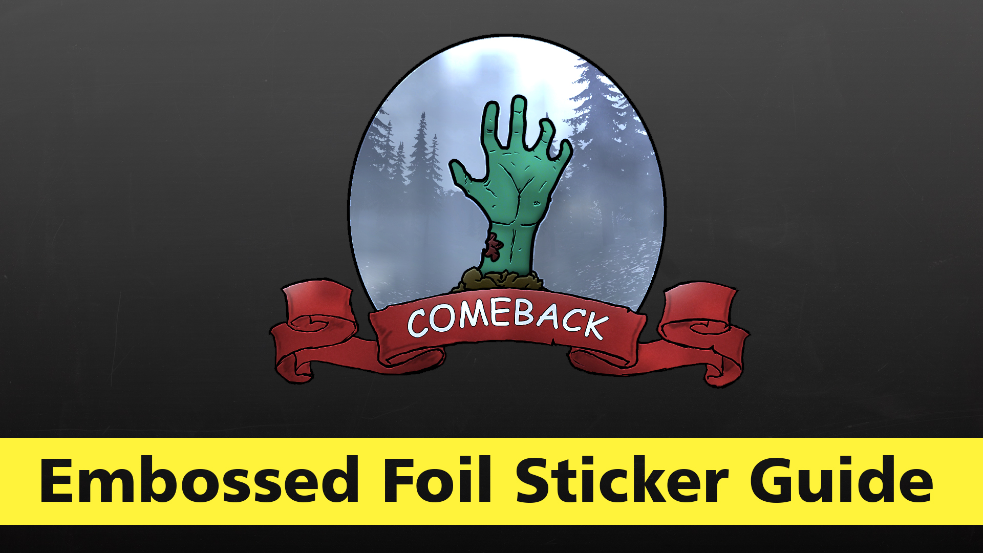 Steam Community :: Guide :: Sticker tutorial   The embossed