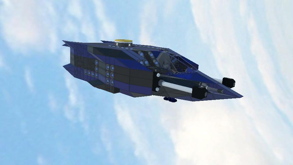 Steam workshop blue thunder type blueprint malvernweather Choice Image
