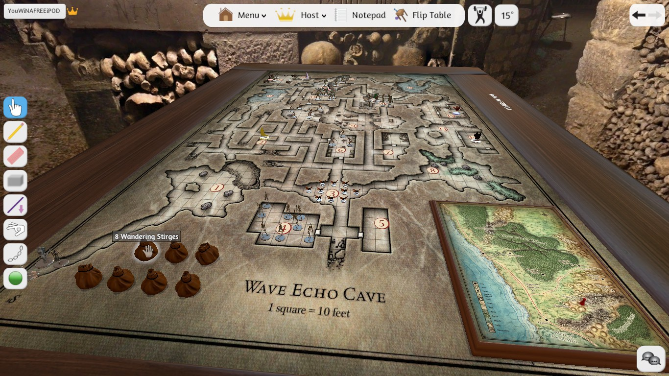 Wave Echo Cave Map — Sayno2Legalcrime