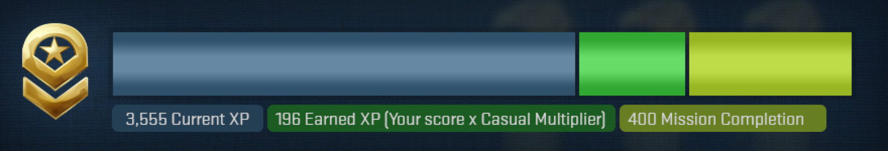 CS aller matchmaking XP