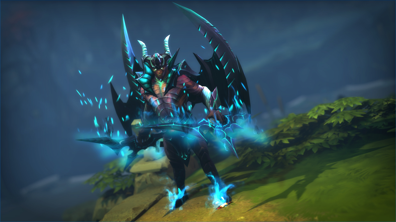 Image result for demon covered in blades