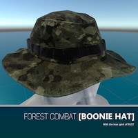 741ce7a0768 Forest Camo Boonie Hat