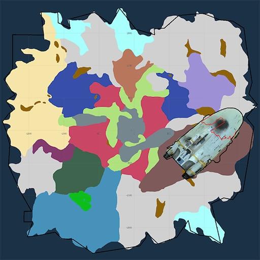 Steam munity Guide Subnautica Loot Map Big fat SPOILER