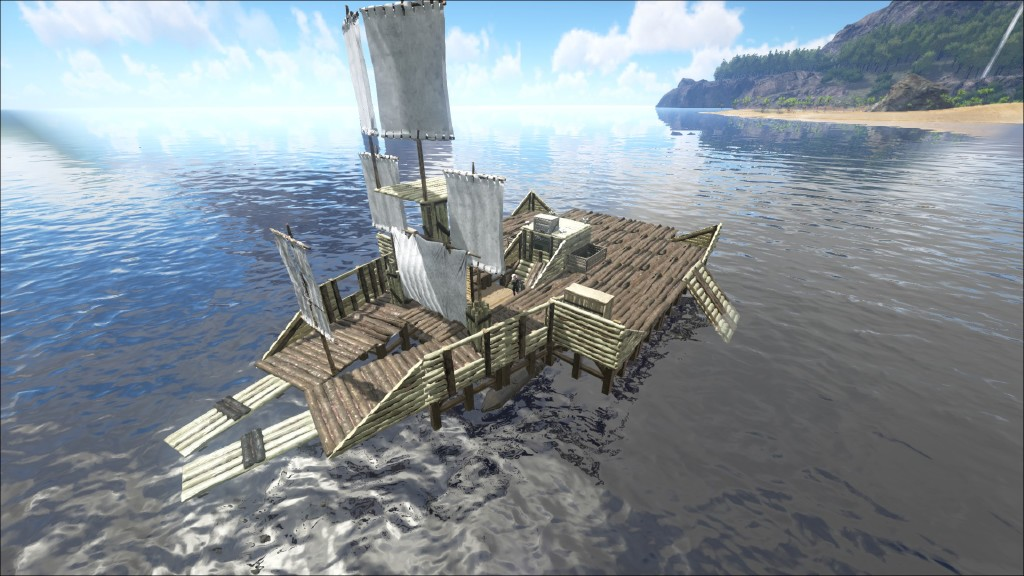 how to build raft base ark