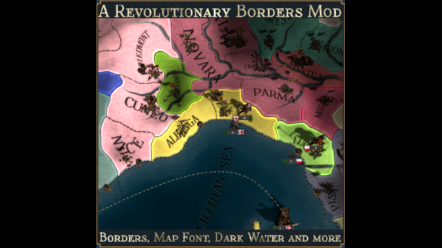 A Revolutionary Borders Mod - Skymods