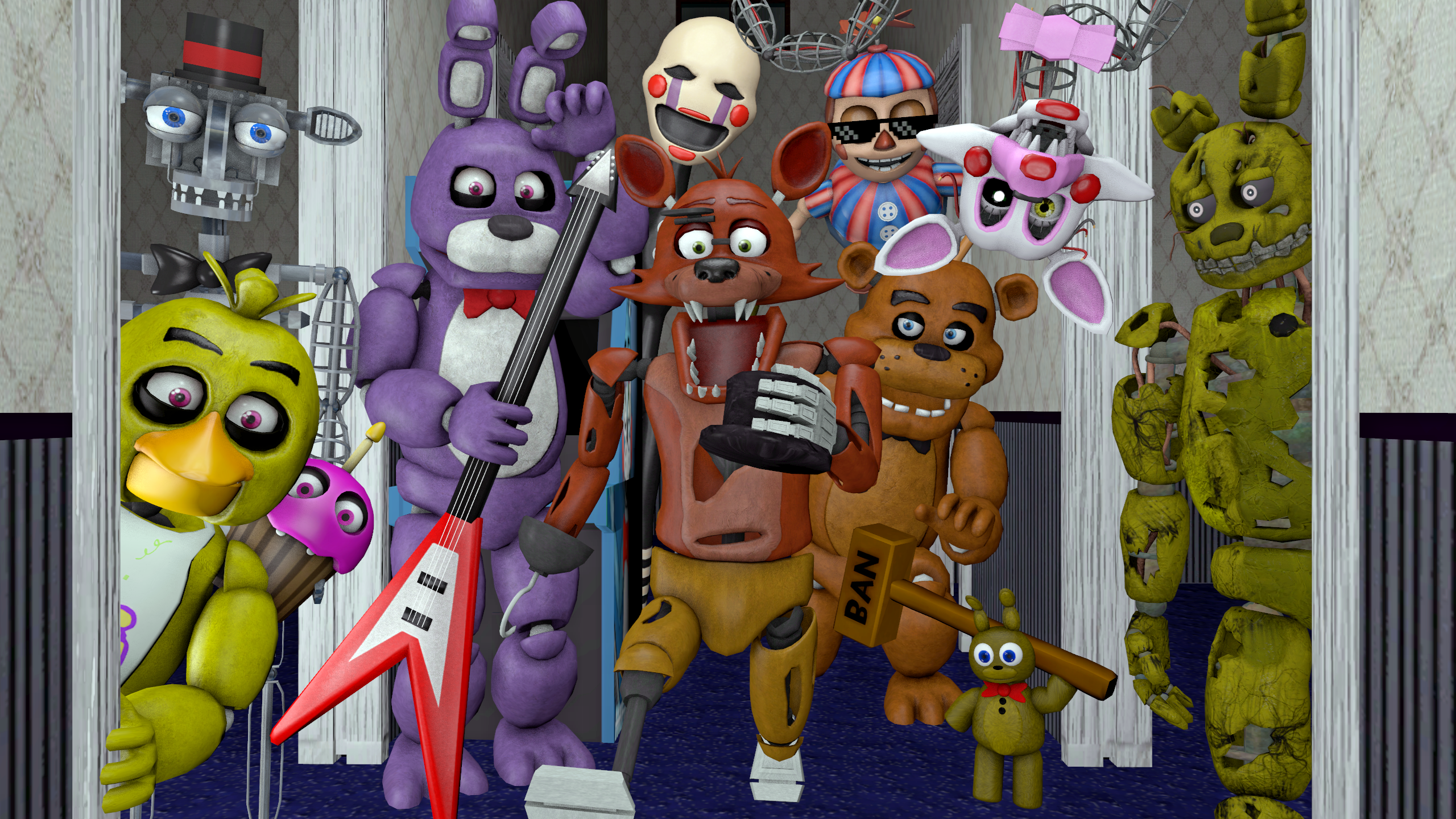 Steam fnaf complete pack publicscrutiny Choice Image