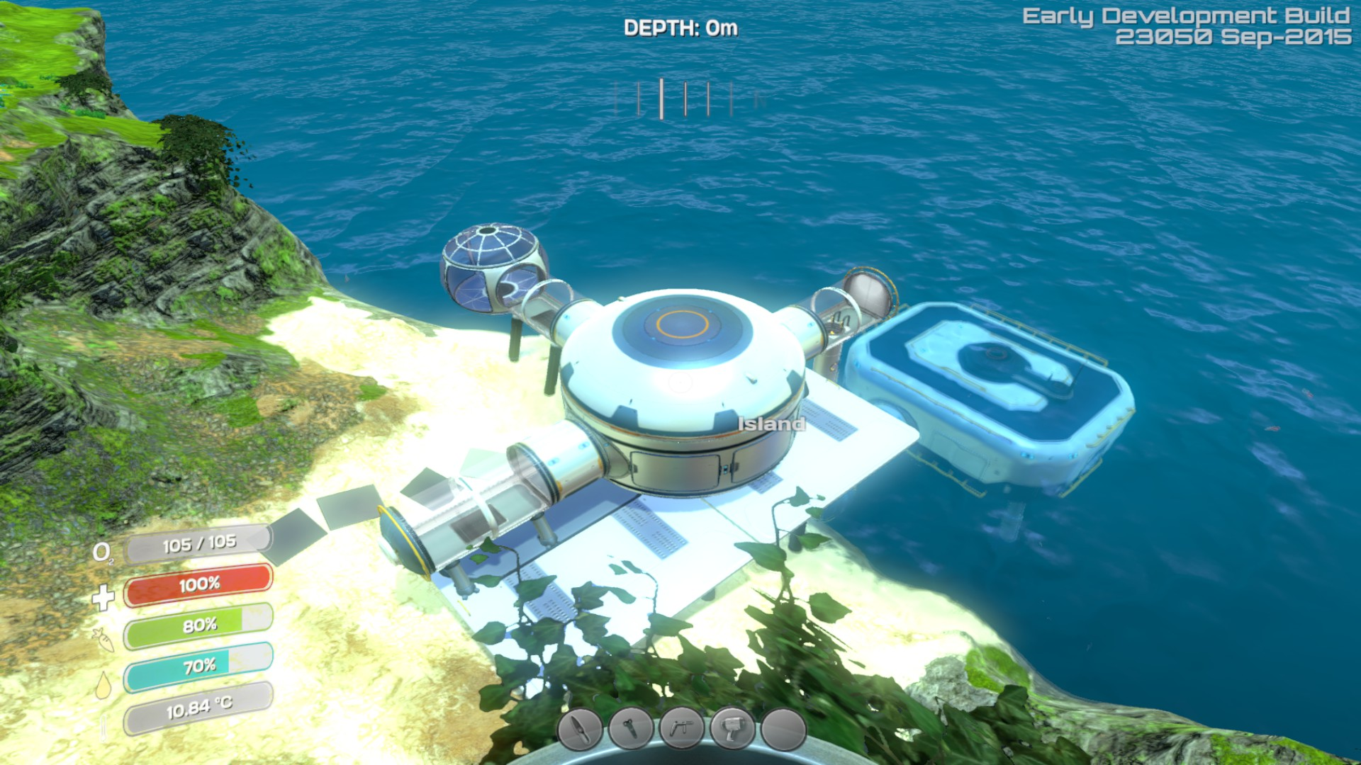 Subnautica Can T Build Base