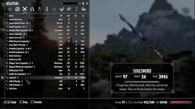 Steam Workshop :: Soulsword