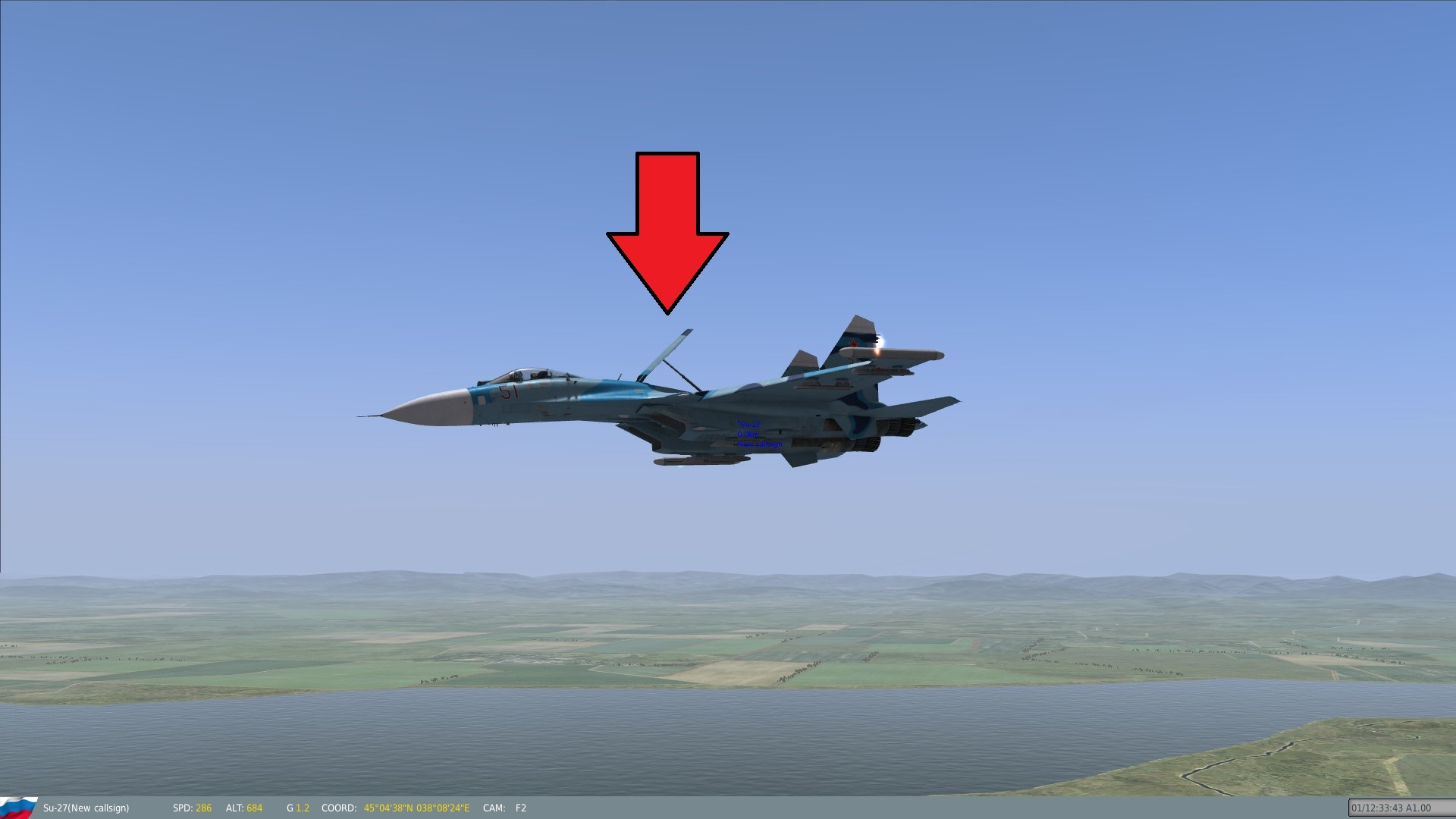 Steam Community Guide Su 27 Flanker Beginners Dcs Wiring Diagram Press B To Engage The Airbrake