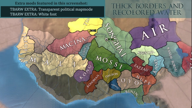 Steam Workshop :: Thick Borders and recolored water ver  1 3
