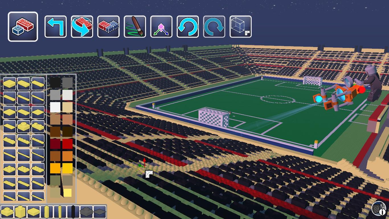 Steam Community :: :: Football stadium, first floor finished!