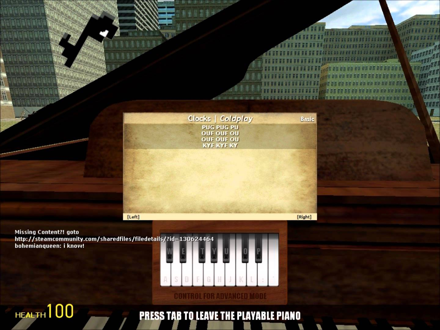Steam Community :: Guide :: Piano Song Sheets