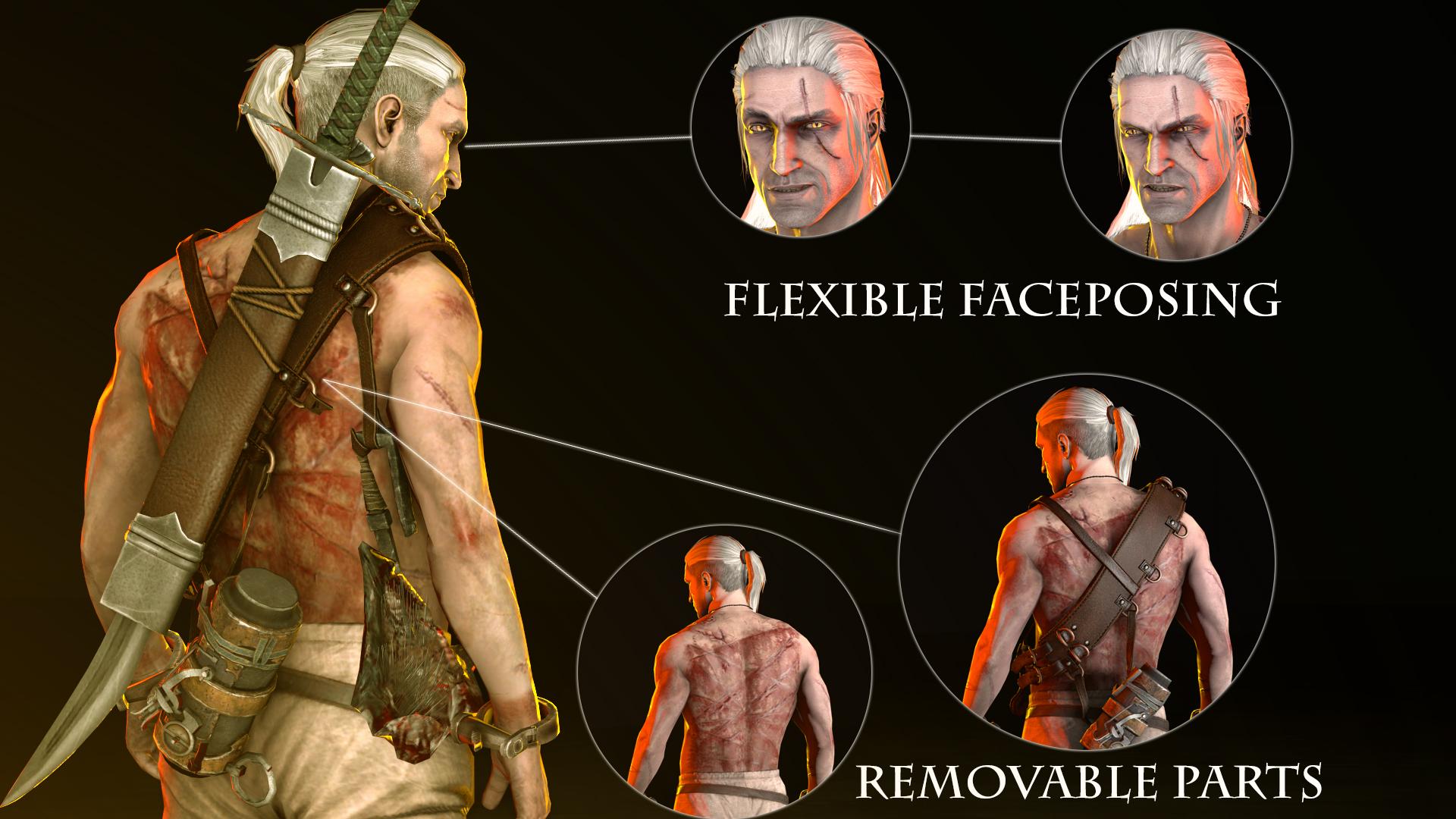 Steam Workshop Geralt Of Rivia