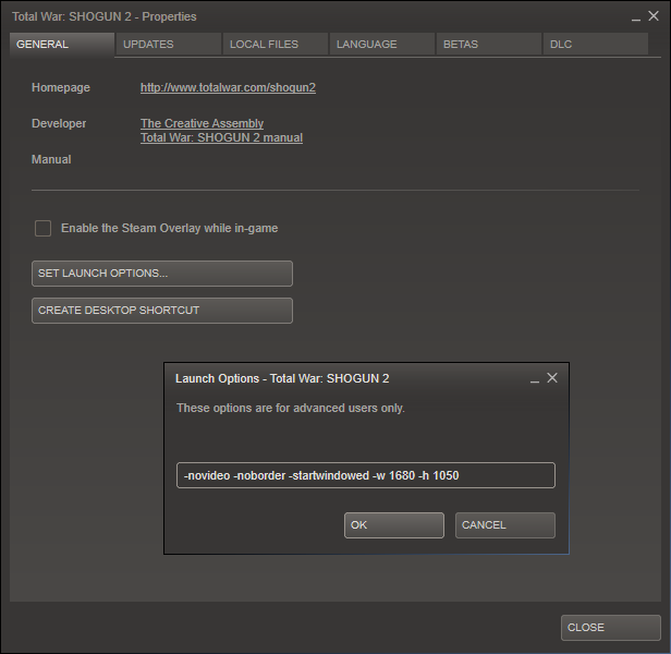 steam how to change frames in launch options