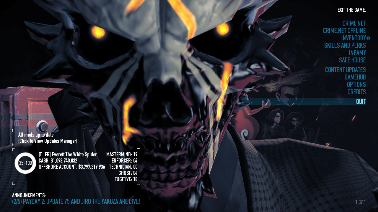 how to instal payday 2 mods