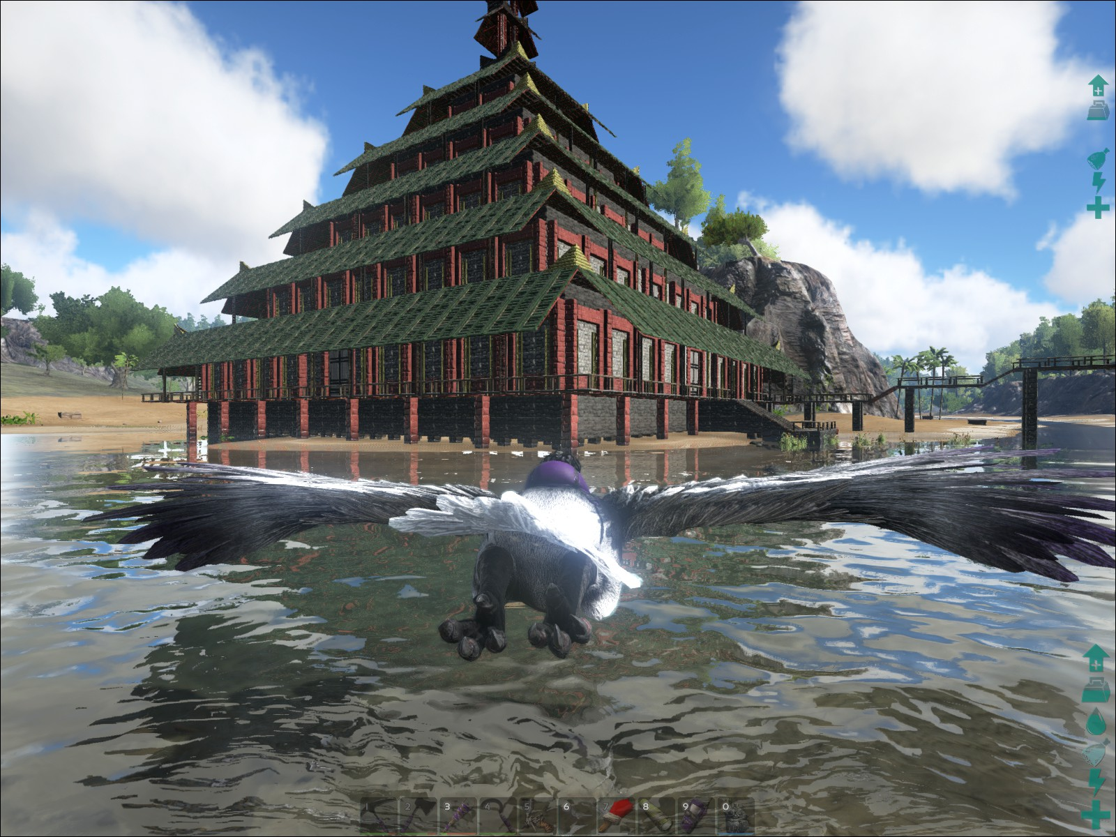 ark survival evolved - Ark Sloped Roof