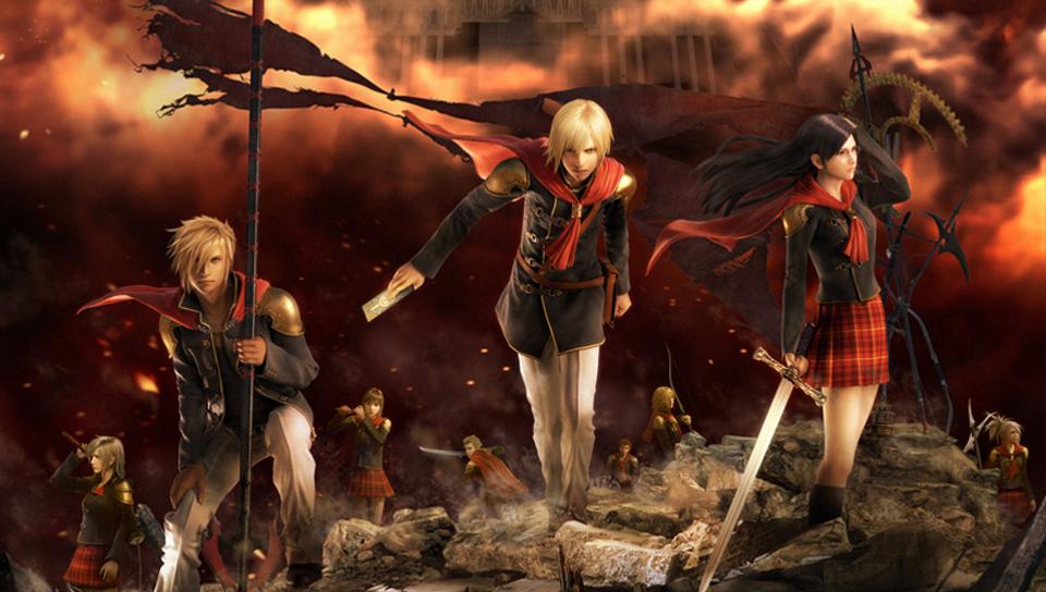 Steamin Yhteisö Kuvankaappaus Final Fantasy Type 0