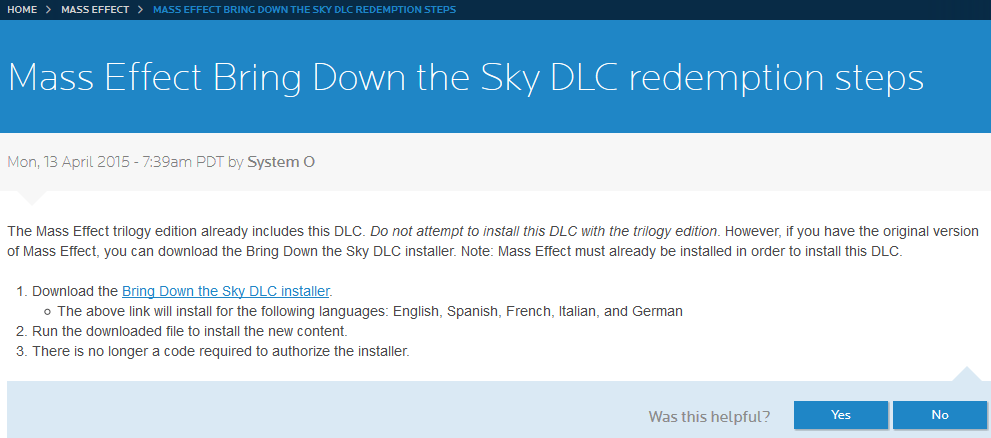 Steam Community :: Guide :: 'Bring Down the Sky' DLC Troubleshooting