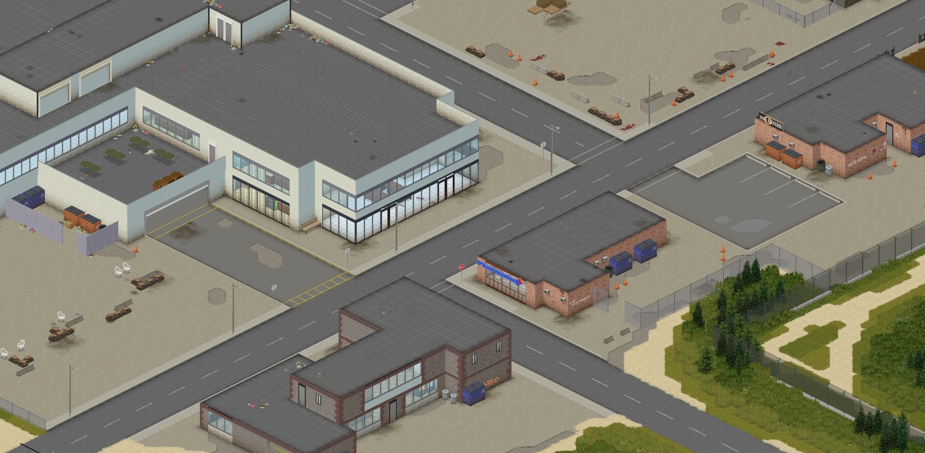 Map mod for project zomboid pheonix