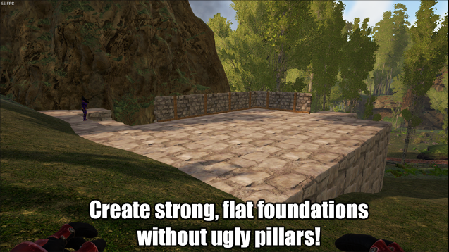 Steam workshop stackable foundations malvernweather Choice Image