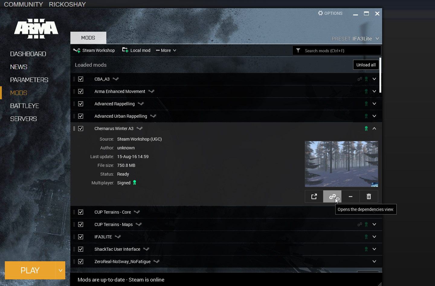 how to find mods on steam