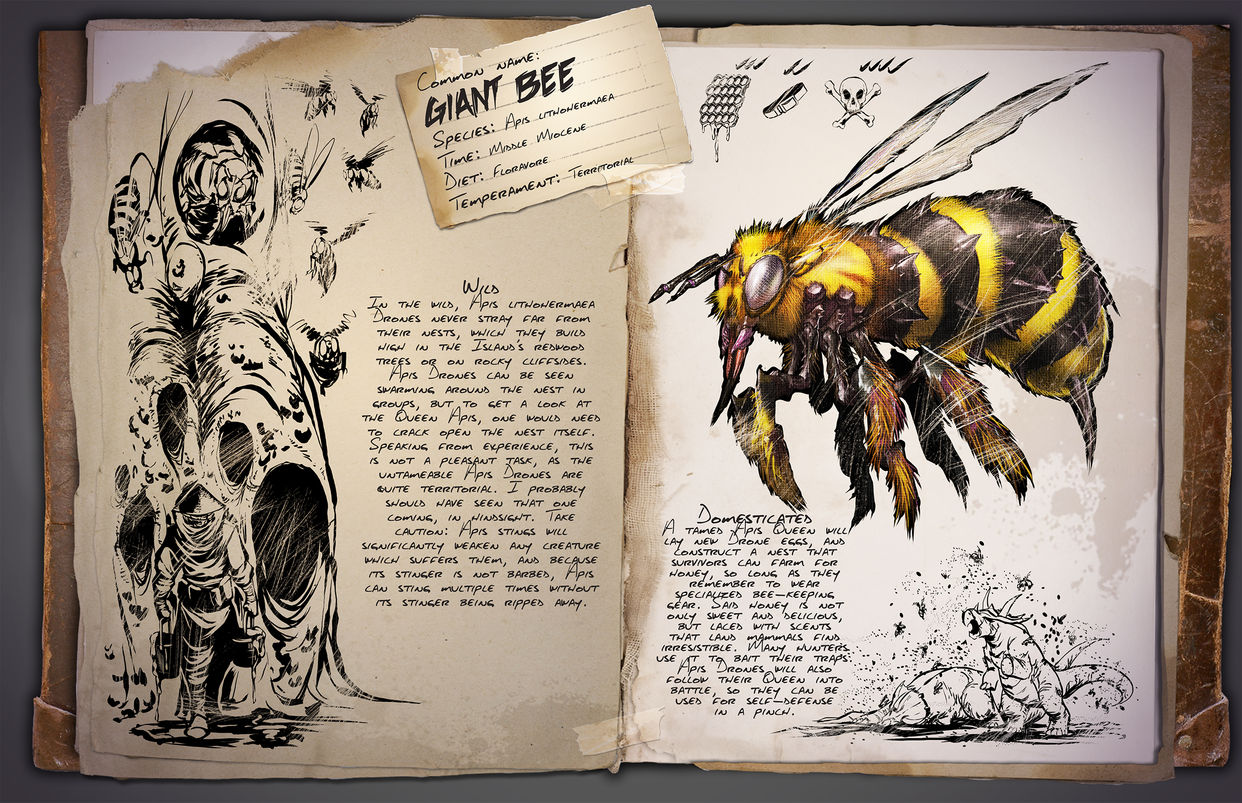 Sep 20, 2016 Introducing the Giant Bee! ARK: Survival Evolved - Jat