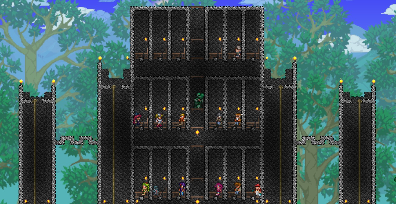 Steam community guide how to build compact houses for npcs