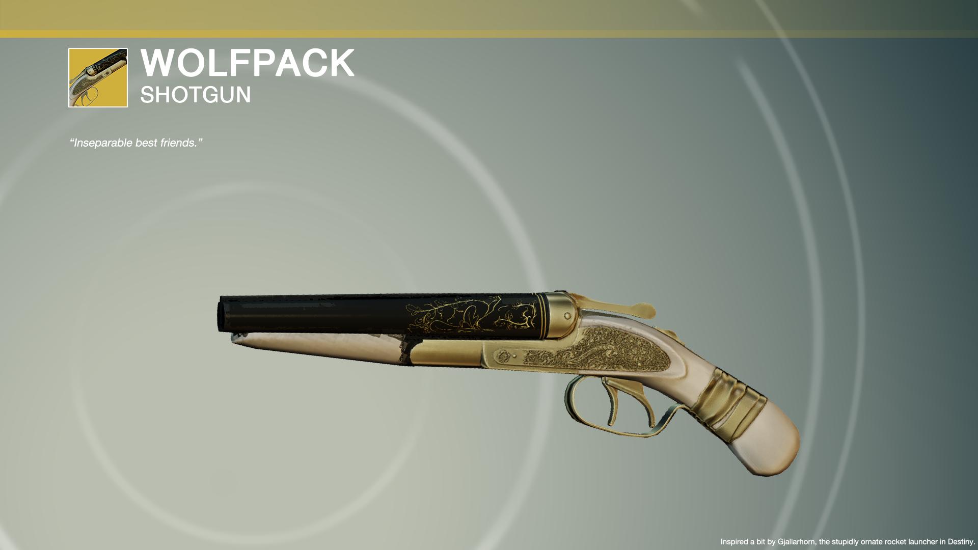 Steam Workshop :: Wolfpack | MOSCONI 12G