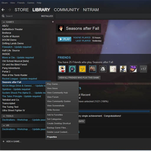 Steam Community :: Guide :: How to access game files