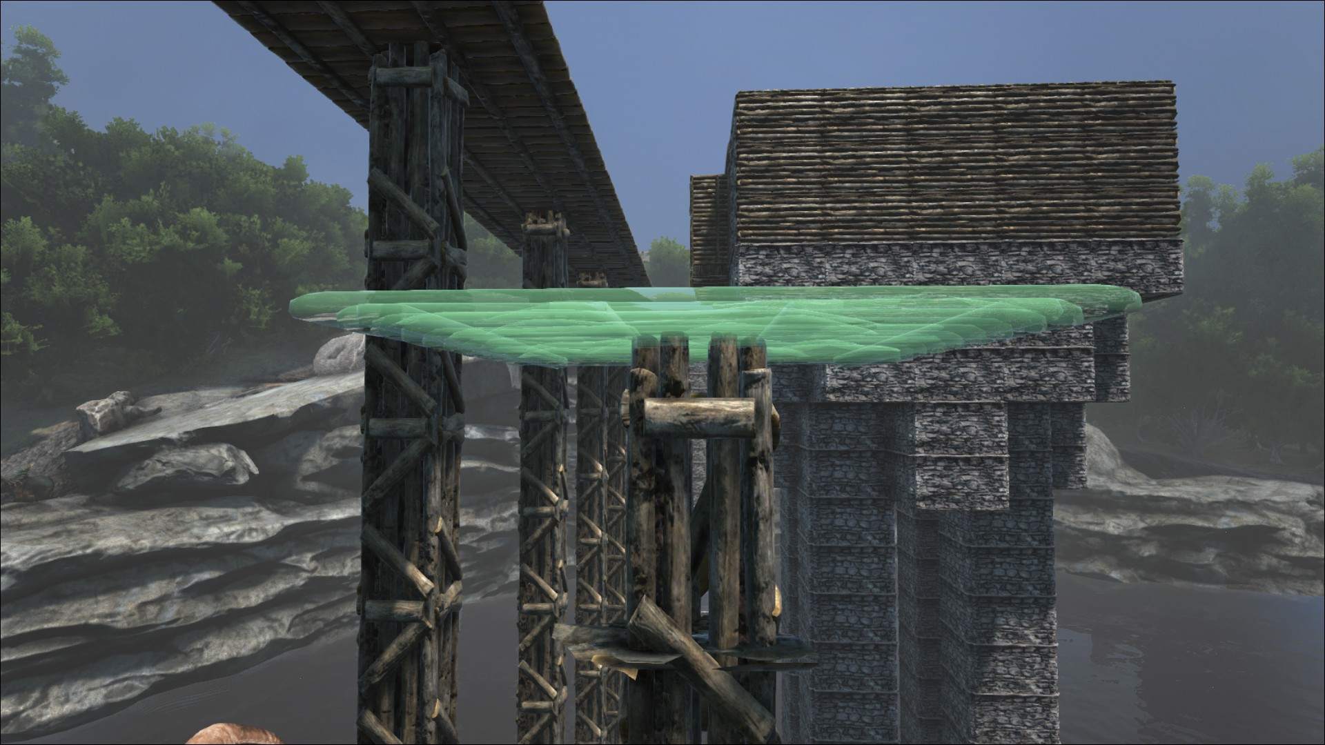 Ark stone ceiling two birds home steam community guide pillars a workaround for creating flush surfaces malvernweather Gallery