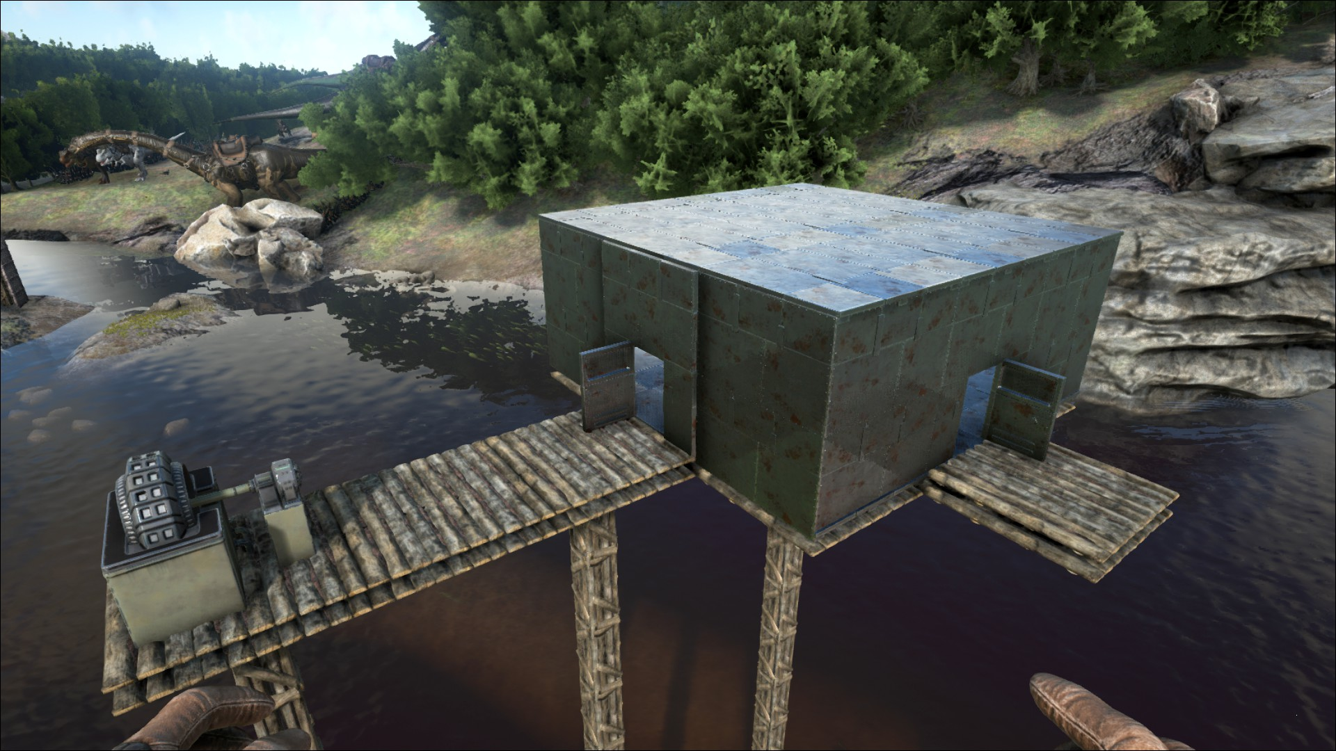 Ark Painted Base Interior