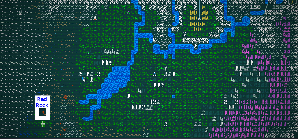 The Map of Qud & Real Geography : cavesofqud