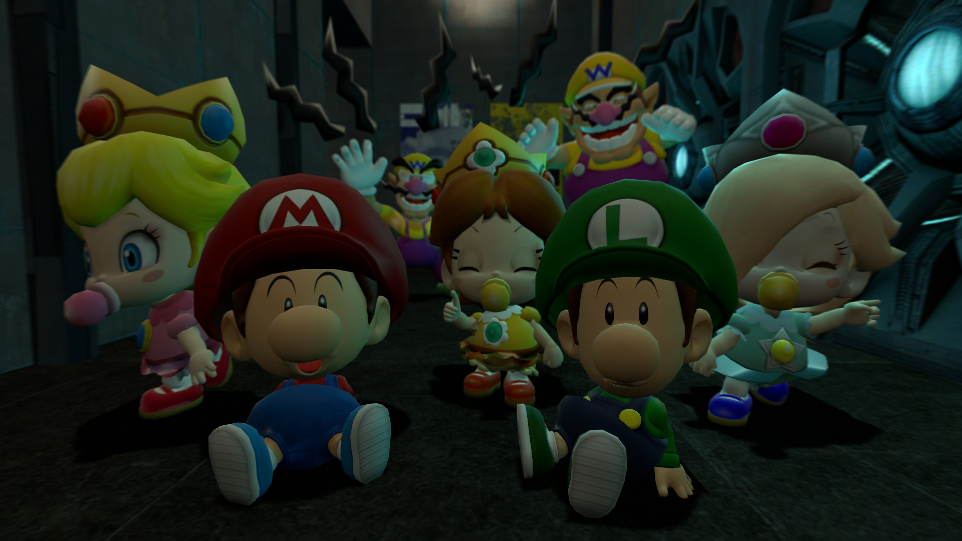 Steam Workshop Super Mario Baby Characters Ragdolls And