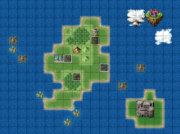 Steam community guide learn to rpg maker ii enhancing your game now were going to make an equally cool world map this will take as much time as you want to spend on it youll be designing your world gumiabroncs Images
