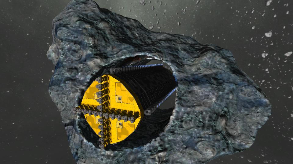 Automated mining ship - Steinbrecher Mark II [no mods]