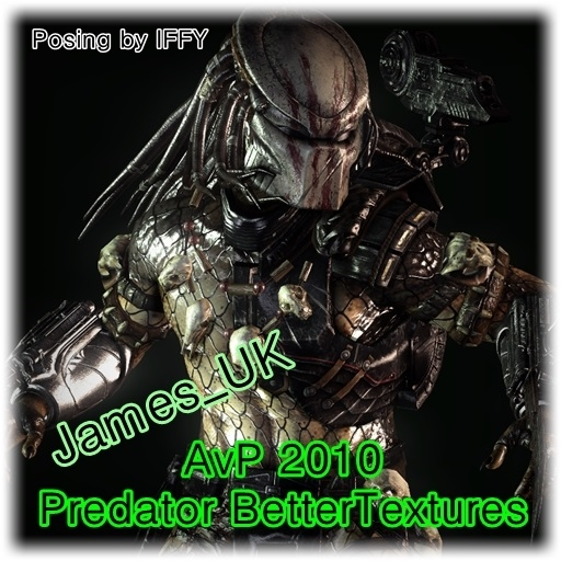 AvP 2010 Predator Textures Fixed