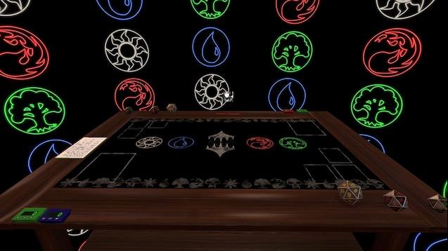 Steam Workshop :: 1v1 Custom Commander MTG board