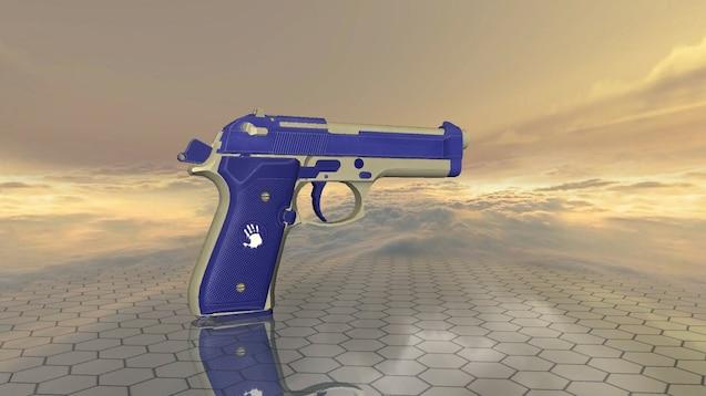 Steam Workshop :: Beretta 92 FS   Frostbite