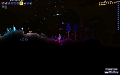 Steam Community Screenshot Solar Eclipse Blizzard And Martians At The Same Time Might be nice to cancel invasions too, but they don't last nearly as long as i have been playing terraria for a long time now. steam community