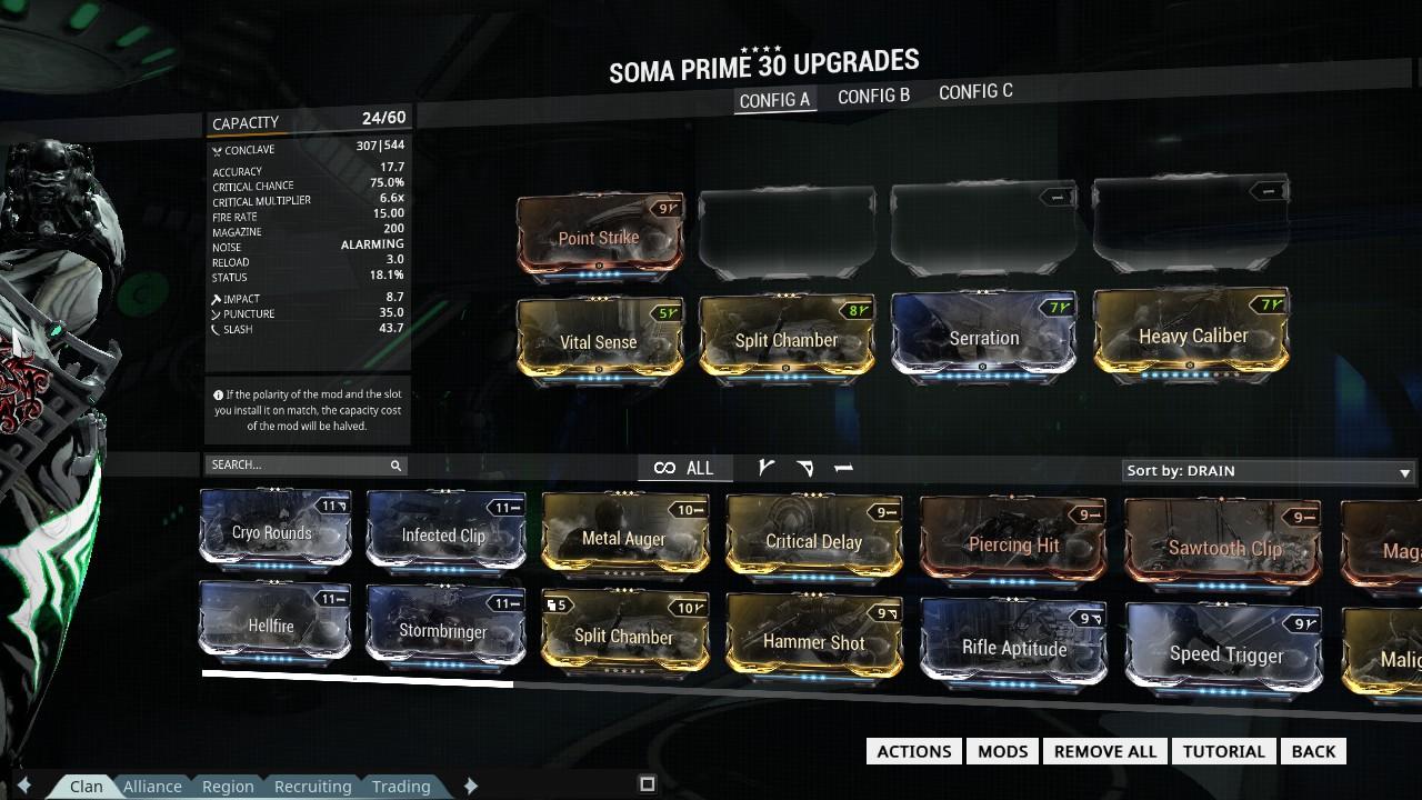 Build Tigris Prime Fr
