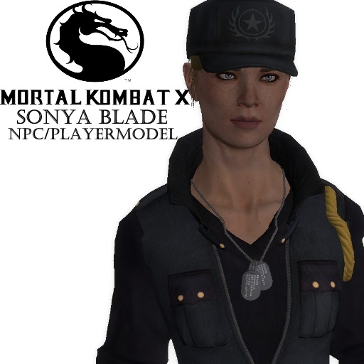 Mkx Sonya Blade Npc Playermodel Steamworkshop Download