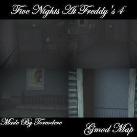 Steam Workshop :: Five Nights At Freddy's 4 Gmod Map