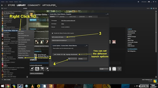 Steam Community :: Guide :: CSGO : Launch Options
