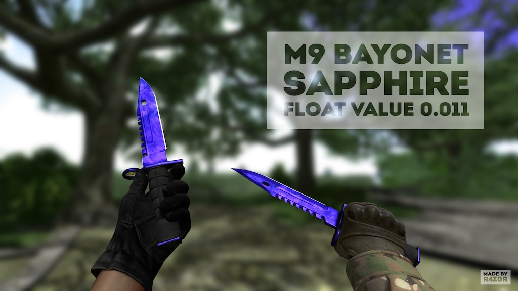 Steam Community :: :: M9 Bayonet Sapphire 0 011 :3