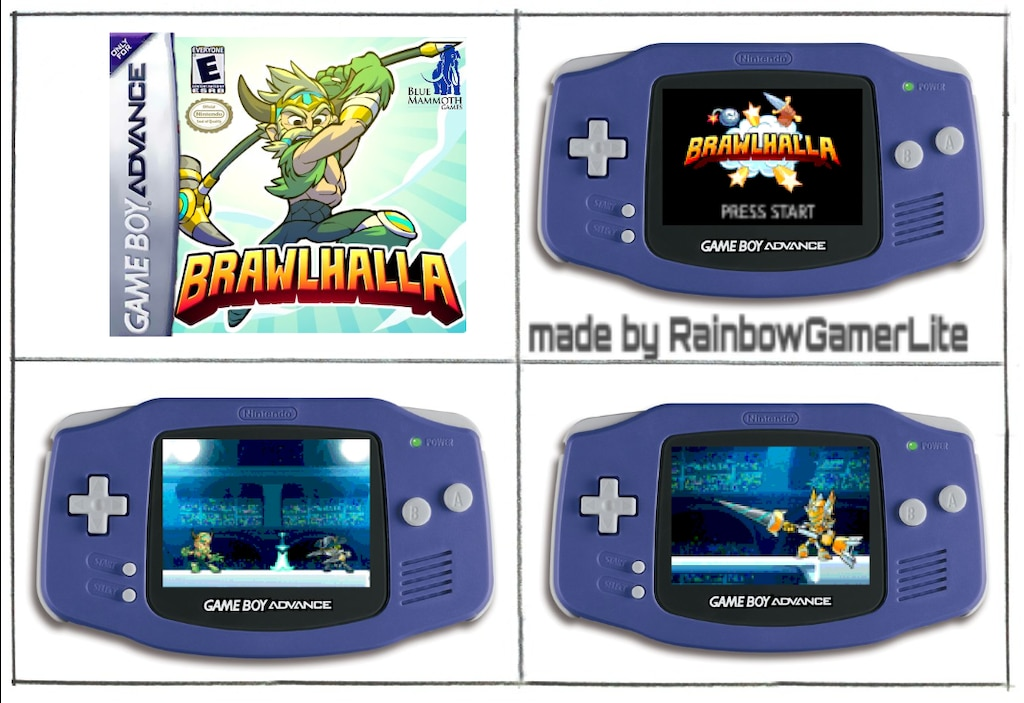 Steam Community :: :: If Brawlhalla was relased for GBA